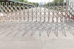 铝篱芭轮子 免版税库存图片