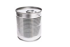 铝罐蜜饯 库存照片