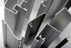 铝配置文件 库存照片