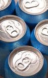 铝饮料罐头饮料 图库摄影