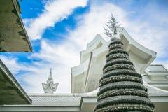 银做的Bodhi树 免版税库存图片