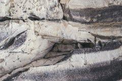 银和灰色岩石背景  免版税库存图片