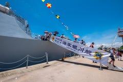 银川第175导弹驱逐舰 免版税图库摄影