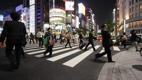 银座,东京 股票视频