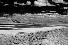 银朱亚利桑那的峭壁 库存照片