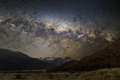银河天体摄影  免版税库存照片