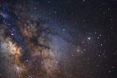 银河的Antares地区的一个广角看法 免版税库存图片