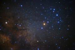 银河, Galact的Antares地区的一个广角看法 免版税库存图片