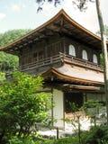 银色亭子的寺庙 库存照片