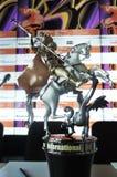 银色圣乔治-莫斯科国际影片竞赛正式奖  免版税库存照片