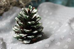 银色圣诞节 库存照片
