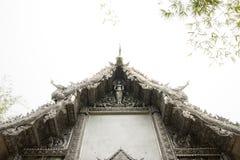 银色寺庙  库存图片