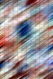 银色彩虹坚硬淡色形状,被弄脏的水彩背景 库存图片