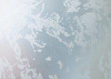银色抽象冬天圣诞节假日背景 免版税图库摄影