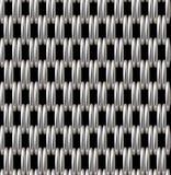 银色栅格传染媒介无缝的样式 免版税图库摄影
