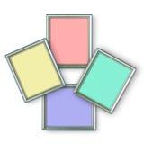银色框架 免版税图库摄影