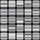 银色梯度 向量例证
