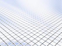 银色正方形 免版税库存照片