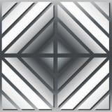 银色正方形 免版税图库摄影