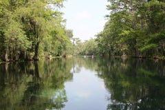 银色河佛罗里达 免版税库存图片