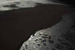 银色海滩 免版税库存照片