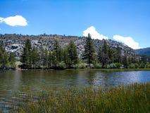 银色湖手段 库存图片