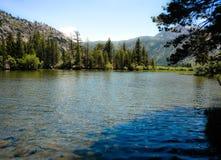 银色湖手段 免版税图库摄影