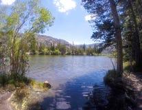 银色湖手段 库存照片