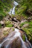 银色瀑布,越南 库存图片