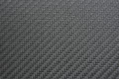 银色碳纤维纹理  免版税库存照片