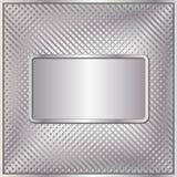 银色背景 免版税库存照片