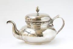 银色茶壶 免版税图库摄影