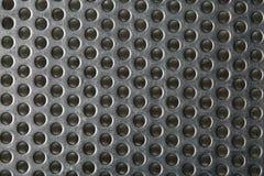 银色金属塑造了象设计背景的一个蜂窝 免版税图库摄影