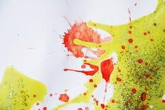 银色金黄闪耀的光,冬天油漆背景 免版税库存图片