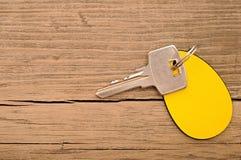 银色钥匙 库存照片