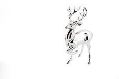 银色鹿 库存图片