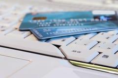 银行业务互联网 免版税库存图片