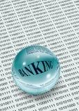 银行业务数据 免版税库存照片