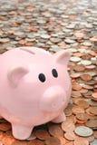 银行企业概念在贪心的财务货币 库存照片