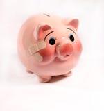 银行伤害贪心 库存图片