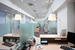 银行办公室 免版税库存照片