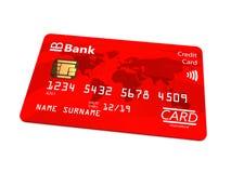 银行卡 免版税库存照片