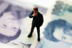 银行商人货币 免版税库存照片