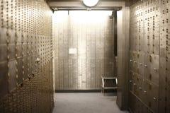 银行地下室 免版税图库摄影
