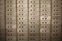 银行地下室 库存图片