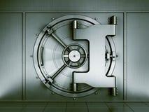 银行地下室 免版税库存图片