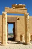 银行埃及hatshepsut西方卢克索的寺庙 库存图片