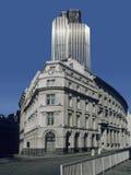 银行城市伦敦 免版税库存照片