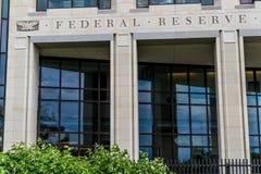 银行城市联邦堪萨斯预留 免版税库存图片
