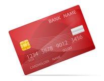 银行塑料卡片材料的传染媒介例证 皇族释放例证